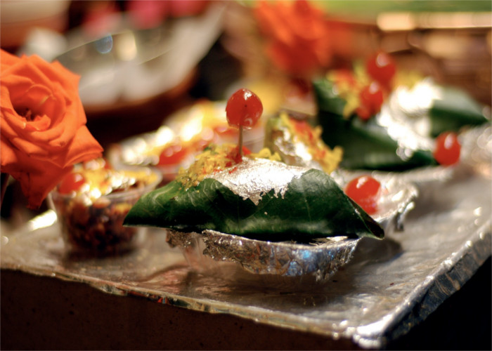 How to make meetha paan without areca nut picture