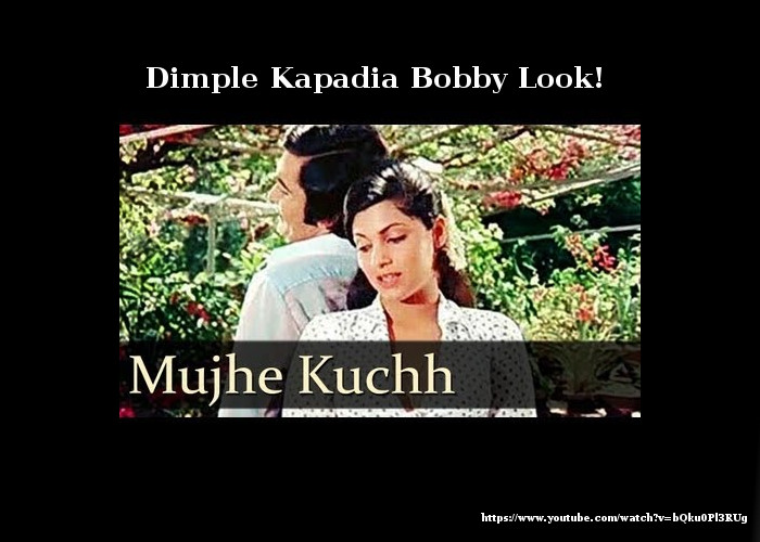 Dimple Kapadia Bobby Look